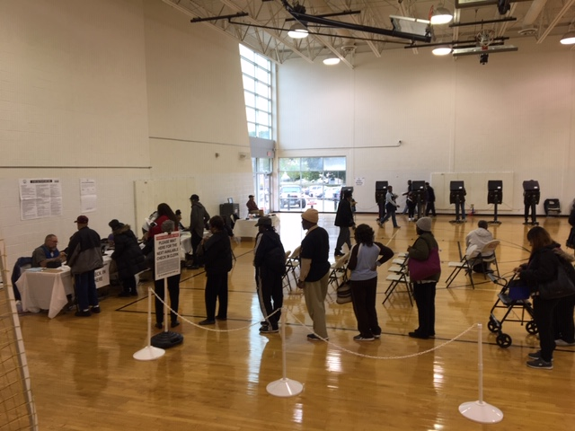 Early Voting - Turkey Thicket Recreation Center